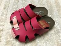 【Jolove】MIT台灣製牛頭牌童鞋/勃肯護趾拖鞋1747 桃色