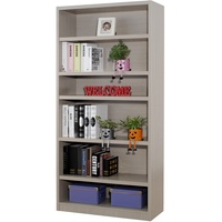 EASY HOME 六格3cm厚板書櫃-秋香色