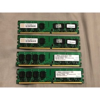 APACER 2G DDR2-800 雙面+ 創見 ddr2 800 2g dimm cl5
