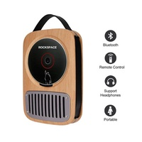 Portable CD Player - ROCK SPACE Bluetooth CD Player, Wireless Music Player for Home, Outdoor, Travel