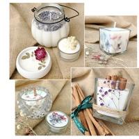 手工蠟燭DIY材料包 環保茶燭套餐香薰無煙大豆蠟原料禮物