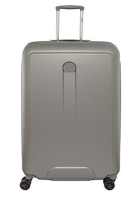 Direct from Germany -  Delsey Helium Air 2 4-Rollen Trolley 82 cm (Color:silberfarbengrau)