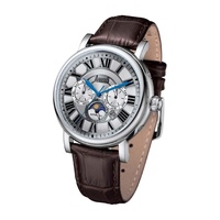 ARBUTUS AUTOMATIC AR912SNF SILVER MEN'S WATCH