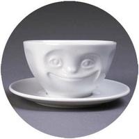 Tassen 德國精瓷趣味咖啡杯盤組A