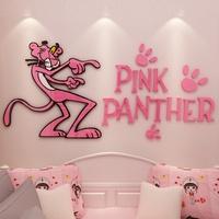 🎀พิ้งแพนเตอร์🎀 Pink panther อะคริลิค 3D Sticker @My hello kitty
