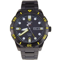 Seiko 5 Sport Automatic นาฬิกาข้อมือผู้ชาย สายสแตนเลส รุ่น SRP679K1 - Black