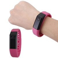 "3 Colors X5 0.49"" OLED Sport Health Smart Bracelet Wrist Band USB Bluetooth 4.0 black green red - intl"
