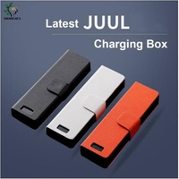 Universal compatible Portable Charger Charging Case Mobile Charging Pods Holder W LED Charging Indicator For JUUL 00