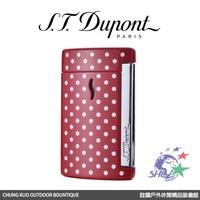 S.T. Dupont 法國都彭頂級打火機 - Minijet 防風噴射打火機 / 紅底白點 / 10521 【詮國】