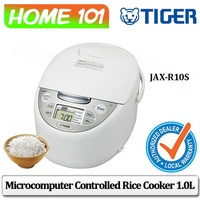 Tiger Microcomputer Controlled Rice Cooker 1.0L JAX-R10S