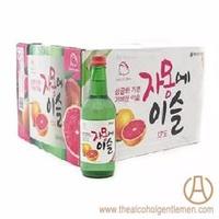 Jinro Chamisul Grapefruit Soju (20 Bottle x 360ml)