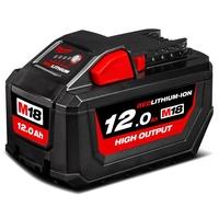 【台灣工具】 Milwaukee18V 12.0 鋰電池M18HB12 米沃奇