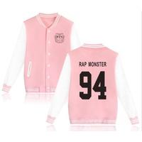 RAP MONSTER下標 BTS 防彈少年團 棒球服 情侶棒球服外套