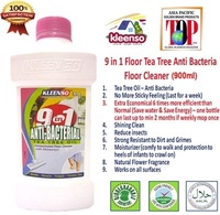 Kleenso 9 in 1 Anti Bacterial Tea Tree Floor Cleaner   Aircon Cleaner  Clog Remover Stain Remover