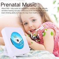Airforc MP3 Cd Players Home Wall Mounted Hifi Wall audio cd players Portable Music Fm Radio Bluetooth MP3/CD/ USB Reproductor Cd - intl