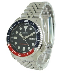 Seiko Automatic Diver Men's Stainless Steel Strap Watch SKX009K2