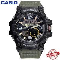 【Ready Stock】Casio G-SHOCK GG-1000 MUDMASTER Green Mens Watch Men Sport