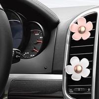 ONAN KOREA LUMENA N9-FLOWER Car Fragrance Diffuser Clip Car Air Freshener