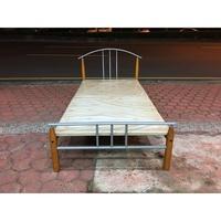 香榭二手家具*標準單人3尺 鐵製床架-鐵床-排骨床-床底-床箱-床組-單人床-套房床-寢具-鐵床框-兒童床-2手-中古床