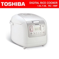New Toshiba 1.0L/1.8L Digital Rice Cooker/Local Warranty RC-10NMF/RC-18NMF/Authetic Local Set