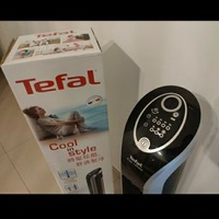 🚚 Tower Fan, Tefal, Eole Infinte, black