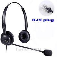 AVAYA 2410 2420 Phone headset call center headset office headphones RJ9 RJ11 headset headphones Anti-noise mic