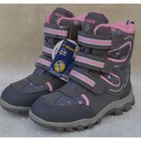 外貿冬季兒童雪地靴女童防水防滑羊毛靴保暖寶寶棉鞋滑雪靴