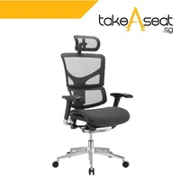 SAIL Luxury Ergonomic Office Chair (Black)