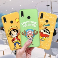 One Piece Cute Cartoon Patterned Cover For OPPO R7S R11S Plus Reno Renoz F9 Pro A7X U1 Soft Case