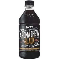 UCC AROMA BREW 艾洛瑪黑咖啡525ml-1箱