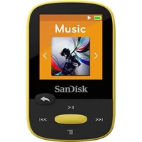SanDisk Sandisk SDMX24-008G-A46Y 8gb 1.44 Clip Sport Mp3 Players (Yellow)