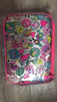 smiggle says double hardtop pencil case Student cartoon pencil case