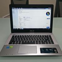 二手自售ASUS X450J I5-4200H 8G/1T/ win7 14吋
