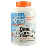Doctors Best L Carnitine Fumarate 855 mg 180 Veggie Caps