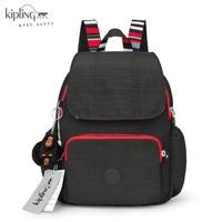【iWork】Kipling 吉普林凱普林尼龍包 最新款猩猩包   (中)雙肩後背包 背部還有隱藏拉鍊袋