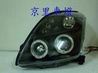 京里車燈專網  SUZUKI 鈴木 SWIFT 黑框雙光圈魚眼大燈一組 3800