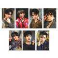 Fancyqube 7 Pcs/Set K-POP BTS Photo Card Bangtan Boys LOVE YOURSELF ARMY BOMB Album Paper Cards Self Made Lomo Cards Photocards