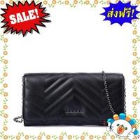 ราคาพิเศษ!!! THAMES กระเป๋าสตางค์ รุ่น TH60138BL สีดำ ขนาด 3.5 x 21 x 11 ซม.  กระเป๋าแบรนด์ของแท้ 100%