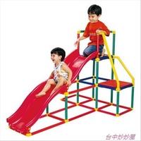 (台中妙妙屋) GIGO 可議價 智高 公司貨 我的健身房 溜滑梯 雙滑梯 #3604公司貨 溜滑梯/攀爬架