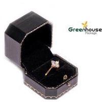 GREENHOUSE PACKAGE กล่องแหวนสอด คาเทียร์ (สีดำ)