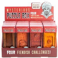 Mysterious Puzzle Box Assorted
