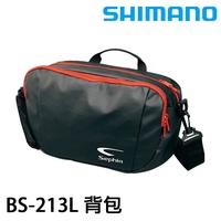 漁拓釣具 SHIMANO Sephia BS-213L 路亞 腰包(黑)