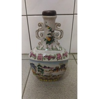"""古董老物 陶瓷空酒瓶:特級酒瓶 """"壽"""" 金門酒廠 空瓶"""