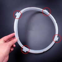 3-4L/5-6L Instant Pot Replacement Silicone Sealing Ring Electric Pressure Cook