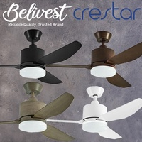 CRESTAR AIRIS Ceiling Fan 3 Blades 42 Inch and 48 Inch (FREE NTUC FAIRPRICE $5 VOUCHER)