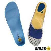 SIDAS Run 3D 慢跑抗菌鞋墊(緩震設計、足跟支撐與穩定度)