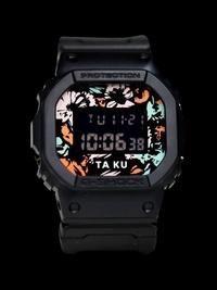 Casio G-Shock x TaKu Collaboration DW-5600TAKU-1 DW5600TAKU-1 DW5600TAKU