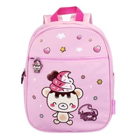 Yummiibear Squishy Pink Schoolbag With Limited Squishy Free Gift