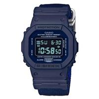 G-SHOCK QUARTZ DW-5600LU-2DR RESIN BLUE MENS WATCH