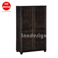 Recky 4 Doors Tall Shoe Cabinets